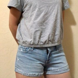 Hollister Shorts - Denim shorts